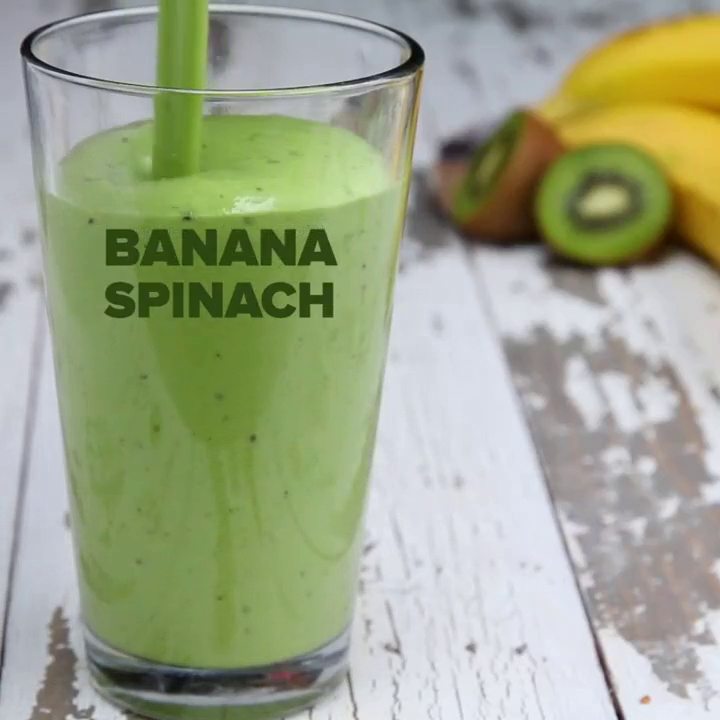 Light and healthy smoothies