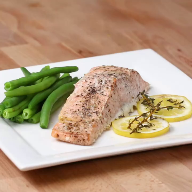 Salmon 4 cooking methods