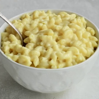 A simple recipe for pasta with cheese
