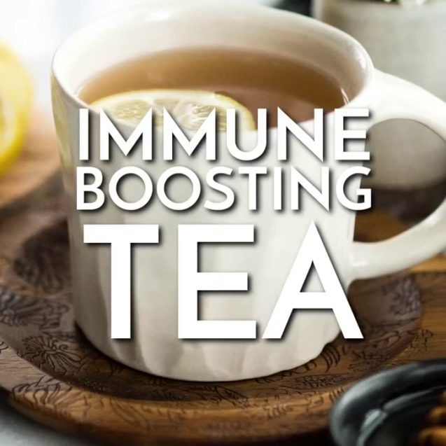 Tea to boost immunity